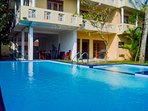 Private villa with pool in Galle