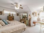 Versailles meets The Hill Country in this 2nd bedroom (w/ a queen bed).