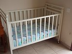 If necessary, we also provide a baby cot in the Master Bedroom for your infant :)
