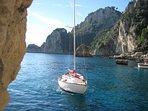Rent sail boat max 4 persons