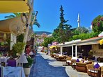 Kalkan  harbourside  restaurants