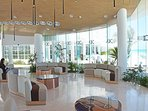 Our resort Lobby, or resort name is Oleo Cancun Playa