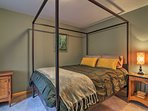 Make your way into the second bedroom, which also has a queen bed.