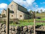 Broadmea Stable and  adjoining Barn. These properties can be booked together to sleep 16.