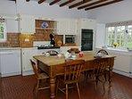 Large farm house kitchen