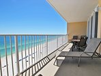Large Gulf Front Balcony