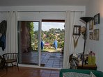 terraced house with sea views, private garden,shared pool-SA PUNTA COSTA BRAVA