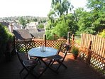 Beautiful views over Dunblane from the garden