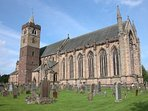 Dunblane Cathedral is only a few metres away