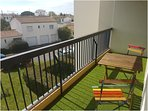 Sun loungers and chairs / table for children available
