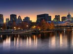 The Old Montreal (only 350 meters away) is a fantastic place to visit, in the...