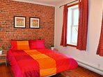 Bedroom 3, on the garden side, offers plenty of natural light and an...