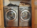 LG front load, energy efficient and top quality washer and dryer!