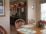 Your dining room is a great place to play a game, play cards, do a puzzle or visit.