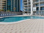Community pool and pool deck