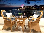 Romantic evenings on the terrace with the most amazing view of the Atlantic and the lights of Anfi