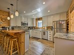 The fully remodeled kitchen features everything you need to whip up favorite recipes!
