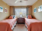 Great space in guest bedroom #3 with 2 twin beds