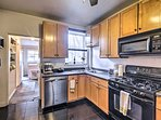 Utilize the modern appliances and ample counter space.