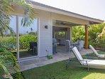 Enjoy the Hawaii Sun on Chaise Lounge chairs in Backyard