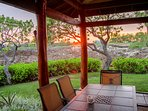 Enjoy Fabulous Hawaiian Sunsets from the Lanai