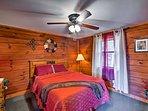 Enjoy peaceful slumbers in the first bedroom.