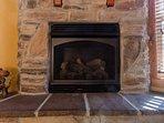 Main Level Living Area Fireplace