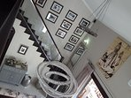 Staircase leading to master suite