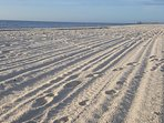 Clean and white sandy BEACH