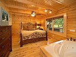 Main Floor Bedroom at Cozy Creek