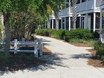 Getting around the resort is easy. All paths lead to an amenity.