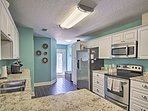 There is plenty of space for extra cooks in the kitchen!