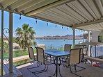 Enjoy lake views during your stay at this Lake Havasu vacation rental house!