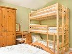 Room 3 triple bunks.