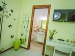 Camera matrimoniale 'Oscar Wilde' con bagno interno