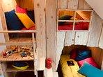 Sayena Guest House et Spa, chambre cabane unique pour vos vacances en famille à la Baule Guérande