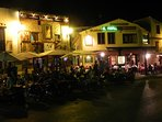 Another view of Denia by night