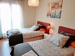 Segunda habitación. 2 camas 1,10 x 1,90m