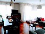 Séptima plaza, sofá cama del salón. 0,80x2m