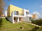 Large contemporary villa with private pool and garden