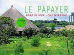 Le Papayer Ecolodge : un paradis sur le bord de mer, entre les rizières et la plage.