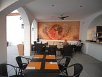 Mismaloya Grill, the onsite restaurant