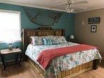 Master Bedroom.  King size memory foam