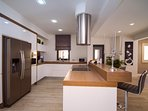 Kitchen is fully equipped with all you might need for a very comfortable stay