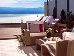 Adriatic sea and Island Brač views are amazing from every point of the property