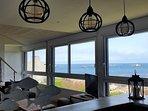 grand salon vue panoramique sur mer