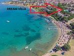 Beach front Dream Villa