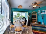 Views of beach and intracoastal waterway from this unit