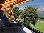 Relax on your balcony and enjoy the stunning lake view
