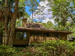 Marsh Woods Cottage is located within the gated community of Inlet Cove.
